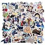 QINXIANG Yuri on ICE Stickers 100pcs Japanese Anime Stickers Waterproof Vinyl Aesthetic Stickers for Laptop Hydroflask Water