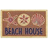 DII Spring/Summer Doormat, 18x30x0.5, Beach House