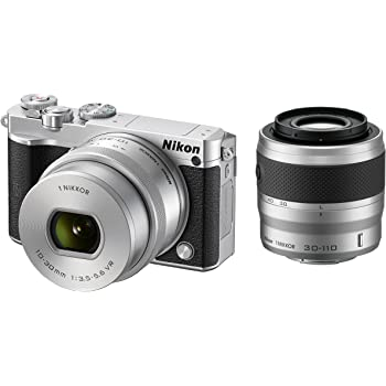 Nikon ミラーレス一眼 Nikon1 J5 ダブルズームキット シルバー J5WZSL