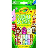 CRAYOLA 58 8248 Doodle Scents, Washable Scented Makers, 18 Vibrant, Flavourful Scents, Great for Colouring, Perfect for Creat