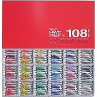 ホルベイン 透明水彩絵具 108全色セット W422 5ml(2号) 003422