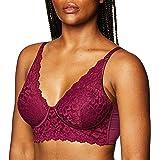 Maidenform Women's Casual Comfort Convertible Bralette Bra, Galactic red