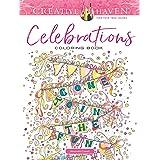 Creative Haven Celebrations Coloring Book