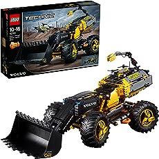レゴ(LEGO)テクニック ボルボ コンセプトホイールローダー ZEUX 42081