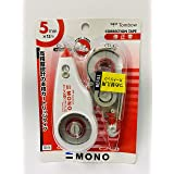 Tombow CT-CX5/CR5 Mono CX Correction Tape with Refill Cartridge, 5mm x 24m
