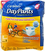 Certainty Disposable Adult DayPants, X-Large, 8ct