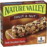 Nature Valley Chewy Trail Mix Granola Bar, Dark Chocolate Cherry, 12 Bars