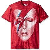 Liquid Blue Unisex-Adult 11982-960-XL David Bowie Aladdin Sane Short Sleeve T-Shirt Short Sleeve T-Shirt - Multi