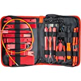 Fstop Labs 39 Pieces Auto Upholstery Trim and Molding Removal Tool Kit, Car Dash Panel Removal and Install Kit with Storage B