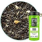 Tiesta Tea - Chinese Jasmine, Loose Leaf Classic Jasmine Green Tea, Medium Caffeine, Hot & Iced Tea, 5 oz Tin - 50 Cups, Natu