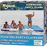 Aqua Expandable Floating Island, Lake Raft, Water Mat, Inflatable Lake-Ocean-Pool Float, 1, 000 Lbs. Capacity, Heavy Duty, X-
