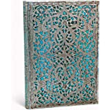 Address Book, Silver Filig Maya Blue, Mi