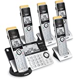 VTech IS8151-5 Super Long Range 5 Handset DECT 6.0 Cordless Phone for Home with Answering Machine, 2300 ft Range, Call Blocki