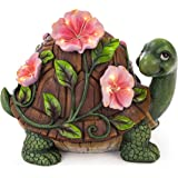 VP Home Luminous Floral Turtle Solar Powered LED Outdoor Decor Garden Light