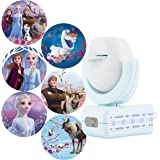 Projectables Frozen 2 LED Night Light Projector, 6-Image, Plug-in, Dusk-to-Dawn, UL-Listed, Scenes of Elsa, Anna, and Olaf on