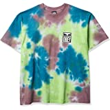 OBEY Men's Eyes ICON 2-Over Bleed Heavyweight TIE DYE