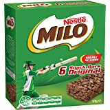 NESTLÉ MILO Snack Bars Original 6 Pack, 126g