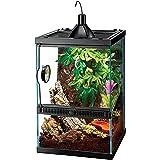 Zilla Tropical Reptile Vertical Starter Kit with Mini Halogen Lighting (ECOM), 11 gal
