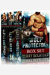 Wolf Protectors Series Boxed Set: BBW paranormal romance Kindle Edition
