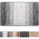Julone Indoor Doormat No Odor Non Slip Rubber Backing Super Absorbent Mud and Water Door Mats Inside Entrance Floor Rugs Pet