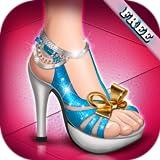 ハイヒール 女の子のためのシューズ ゲーム ファッション 靴 - 女の子と子供のための靴のゲーム!無料で