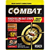 Combat Roach Bait Strips with Fast Kill Action, Insecticides, 20g, 10 Pack