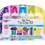 Tulip 31675 One Step Tie Dye Kit 5 Color Ultimate, 59 Pieces, 1.50oz
