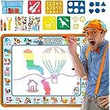 Creative Kids BlippiWater Doodle Mat Magic Water Drawing Mat with Hidden Colors - Aqua Magic Mat for Boys and Girls – Water