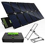 TP-solar 100W Foldable Solar Panel Charger Kit for Portable Generator Power Station Smartphones Laptop Car Boat RV Trailer 12