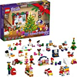 LEGO 41690 Friends Advent Calendar 2021 Mini Builds Set, Christmas Toys for Kids with 5 Micro Dolls, for 6 Year Olds