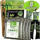 Nature Fresh Air Purifier Bags, Bamboo Charcoal Air Purifying Bags, Activated Charcoal Air Purifying Bag Odor Eliminators For