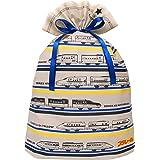 インディゴ タカラトミー プラレール ラッピング袋 ギフトバッグ4L ベージュ TA082