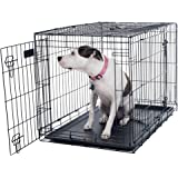 "PETMAKER Large 2 Door Foldable Dog Crate Cage, 36 x 23"" (80-361501)"