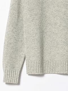 5 Gauge Wool Crewneck Sweater 11-15-0879-103: Light Grey
