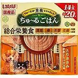 いなば ドッグフード ちゅ~るごはん とりささみ チキンミックス味 14g×20本