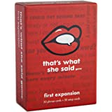 That's What She Said Game - First Expansion