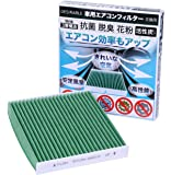 Desirable製 特殊3層構造&活性炭入り 交換用 エアコンフィルター PM2.5除去 ウィルス 排ガス 抗菌 抗カ…