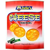 Julie's Cheese Crackers Biscuits Tin, 700g