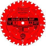 Freud 10 In. 30 Tooth Glue Line Ripping Saw Blade with 5/8 In. Arbor (LM74R010)