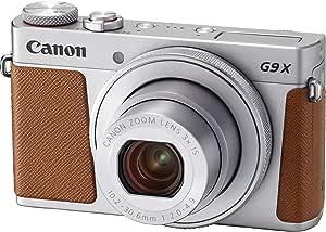 Canon コンパクトデジタルカメラ PowerShot G9 X Mark II シルバー 1.0型センサー/F2.0レンズ/光学3倍ズーム PSG9XMARKIISL