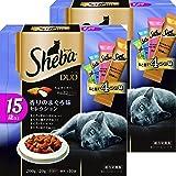 シーバ (Sheba) キャットフード デュオ 15歳以上 香りのまぐろ味セレクション 高齢猫用 200g×2個 (まとめ買い)