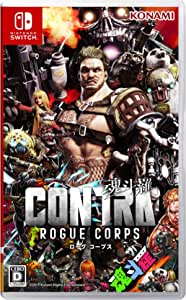 Switch版 CONTRA ROGUE CORPS (魂斗羅 ローグ コープス)
