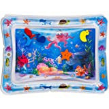 Splashin'kids Inflatable Tummy Time Premium Water mat Infants and Toddlers is The Perfect Fun time Play Activity Center Your