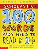 Scholastic 100 Words Kids Need to Read by 1st Grade 英語 アクティビ…