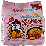 Samyang Hot Chicken Carbonara Ramen, 130g (Pack of 5)