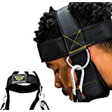 HYPELETICS Neck Weight Lifting Harness - Neck Harness for Weight Training w/Padded & Adjustable Strap - Neck Workout, Head Ha