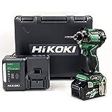 【Amazon.co.jp限定】HiKOKI(ハイコーキ) 第2世代36Vインパクトドライバ アグレッシブグリーン 初回修理保証付き 蓄電池1個、充電器、ケース付き WH36DC(XP)