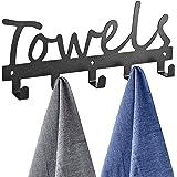 Topspeeder Towel Racks Black