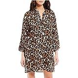 Natori Leopard Challis Sleepshirt