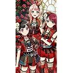 BanG Dream!(バンドリ!) iPhoneSE/5s/5c/5(640×1136)壁紙 美竹蘭,上原ひまり,宇田川巴